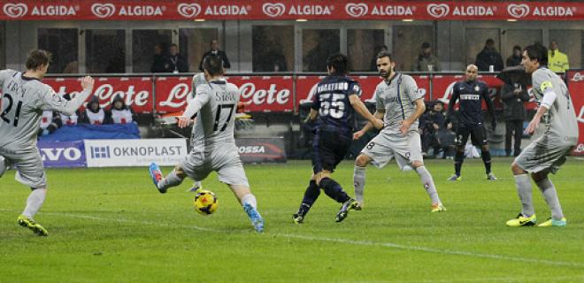 Inter-Chievo Verona gol Nagatomo