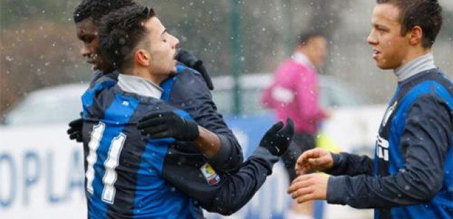 Inter-Chievo esultanza 2 Primavera