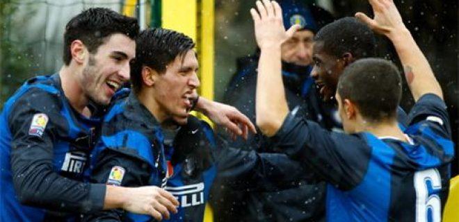 Inter-Chievo esultanza Primavera