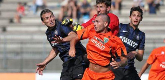 Inter-Feralpi Salò gol Campagnaro