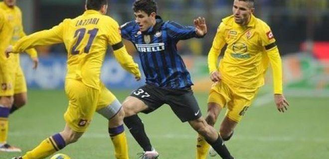 Inter-Fiorentina 2011-12 Faraoni