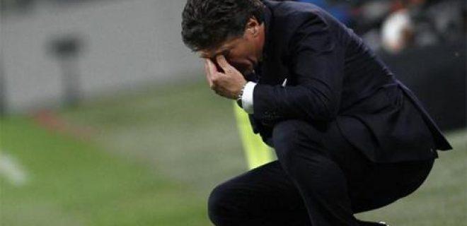 Inter-Fiorentina Mazzarri disperato