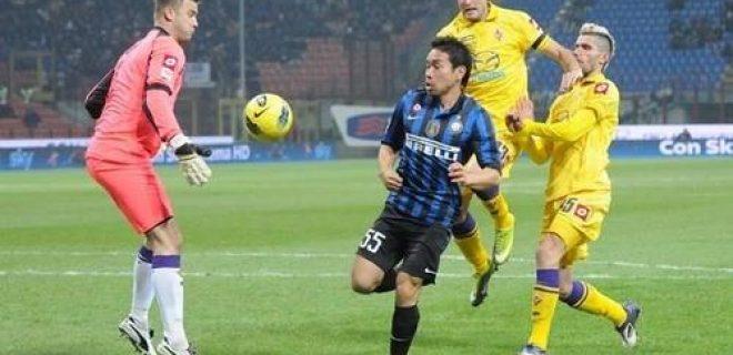 Inter-Fiorentina gol Nagatomo
