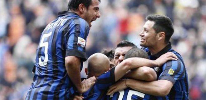 Inter-Genoa 5-4 esultanza
