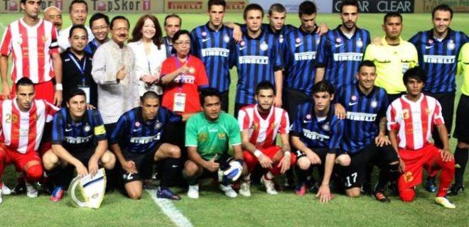 Inter Indonesia foto prima amichevole