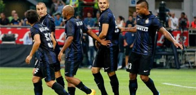 Inter-Juventus 1-1 esultanza gol