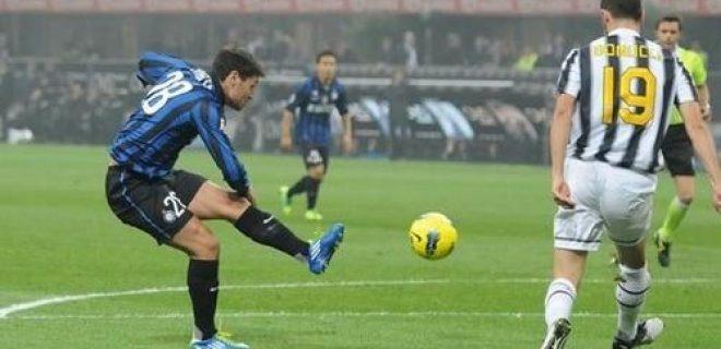 Inter-Juventus Zarate