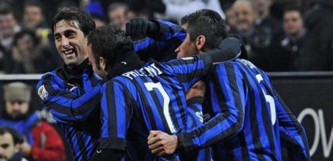 Inter-Lazio esultanza gol