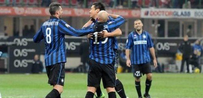 Inter-Lecce esultanza Cambiasso (2)