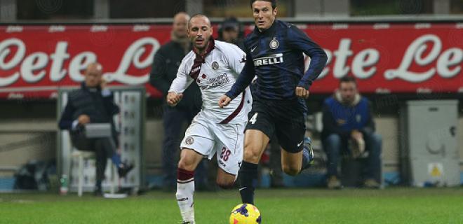 Inter-Livorno azione Zanetti