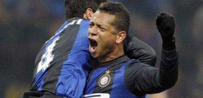 Inter-Napoli esultanza finale Zanetti Guarin