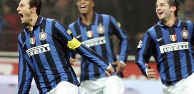 Inter-Roma gol Zanetti