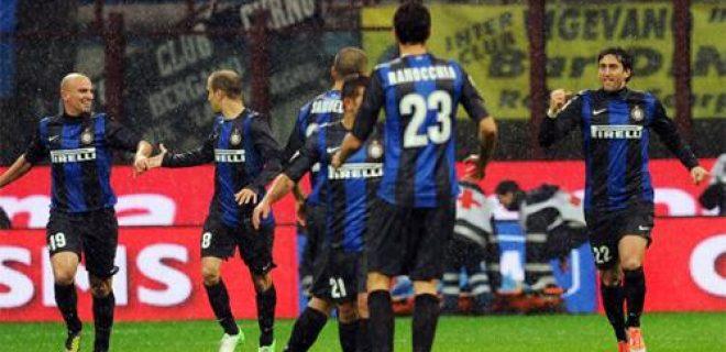 Inter-Sampdoria festeggiamenti