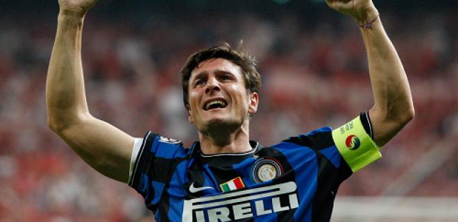 Inter Zanetti lacrime Madrid Champions 2010