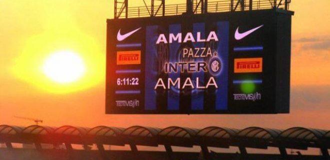 Inter alba San Siro