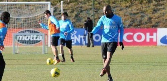 Inter allenamento 10 gennaio 2012 (2)