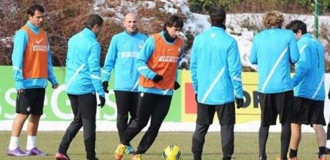 Inter allenamento 10.02.2012