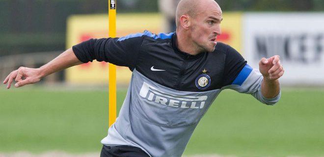 Inter allenamento 12 ottobre 2012 (3) Cambiasso