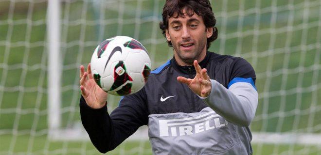 Inter allenamento 12 ottobre 2012 (5) Milito