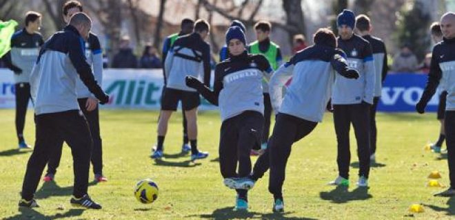 Inter allenamento 12.12.2012