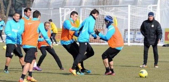 Inter allenamento 14 febbraio 2012