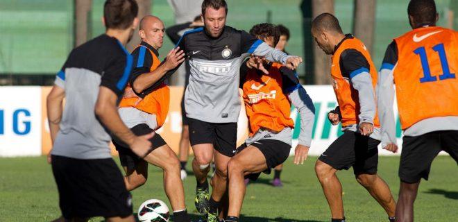 Inter allenamento 14 settembre 2012