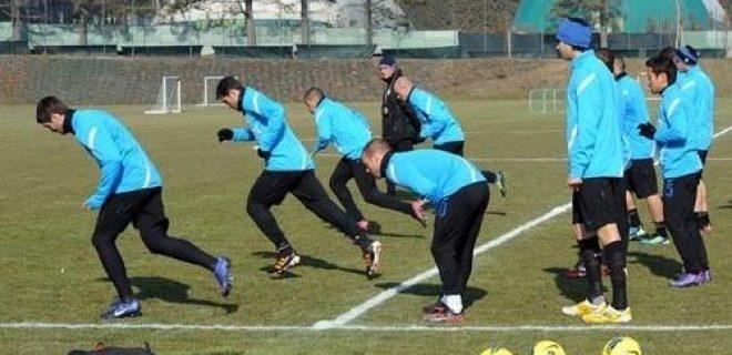 Inter allenamento 16 febbraio 2012