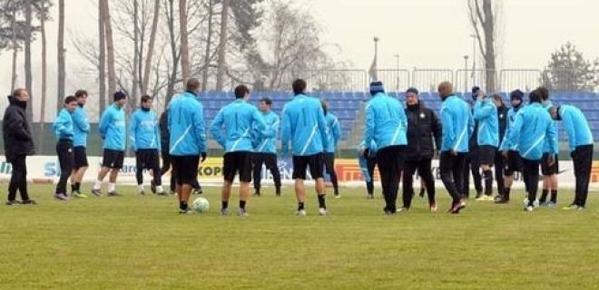Inter allenamento 19 febbraio 2012