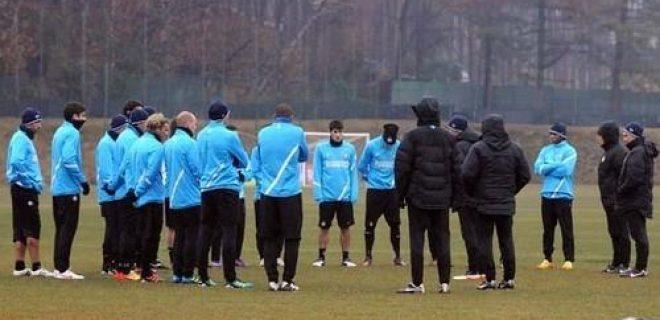 Inter allenamento 2 gennaio 2012