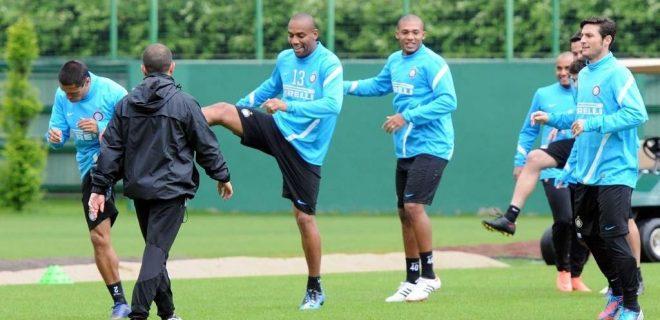 Inter allenamento 21 maggio 2012