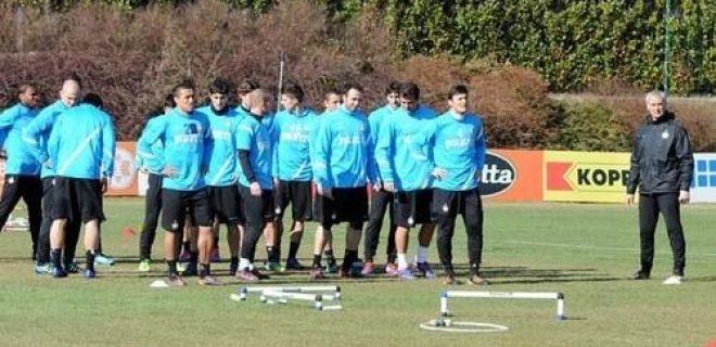 Inter allenamento 24 febbraio 2012
