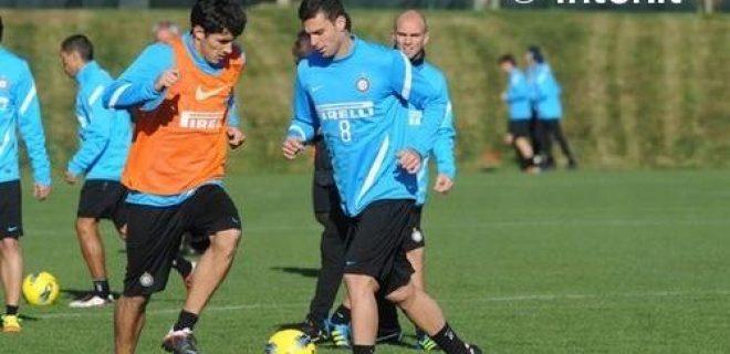 Inter allenamento Thiago Motta