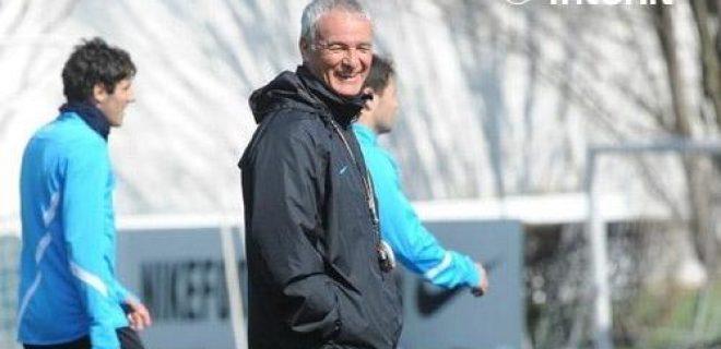 Inter allenamento sorriso Ranieri