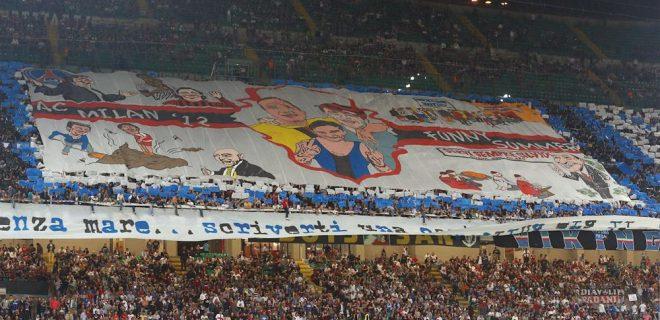 Inter coreografia derby 7 ottobre 2012
