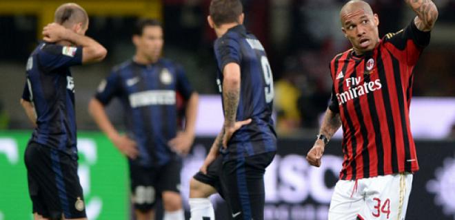 Inter delusione derby Milan-Inter DE Jong