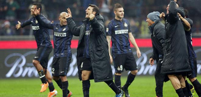 Inter esultanza derby