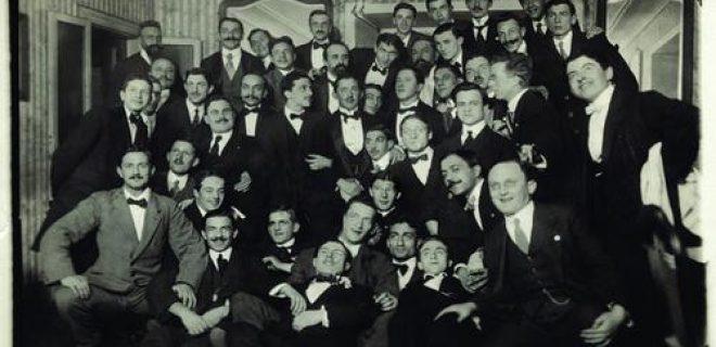 Inter fondazione ristorante L'Orologio 9 marzo 1908
