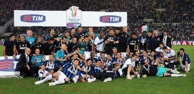 Inter vittoria Coppa Italia 2010-11