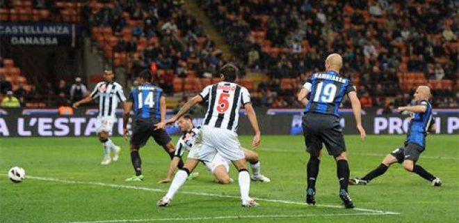Inter vs Udinese gol Rocchi