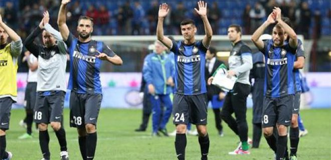 Inter vs Udinese saluto finale giovani Pasa Benassi