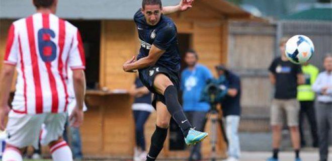 Inter vs Vicenza Belfodil