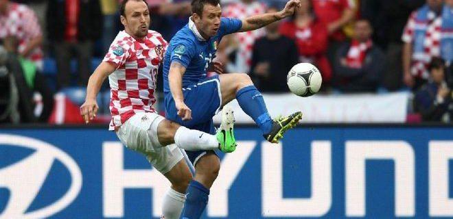 Italia Croazia 1-1 foto