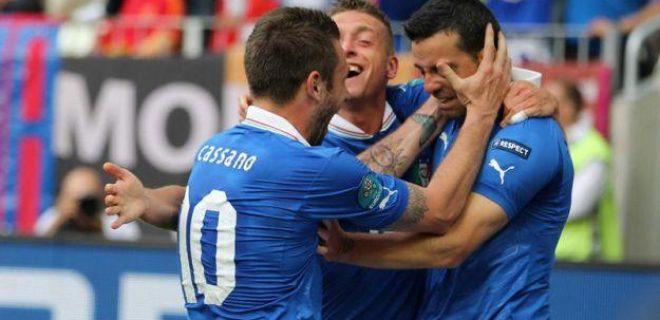 Italia-Spagna 1-1 Di Natale