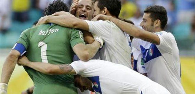 Italia-Uruguay Confederations Cup 2013