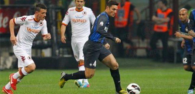 Javier Zanetti Inter-Roma