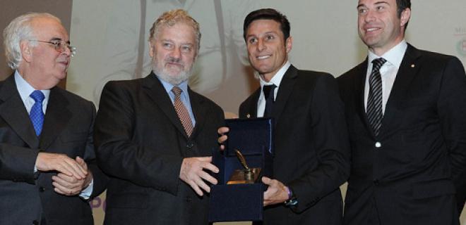 Javier Zanetti Premio Gianni Brera