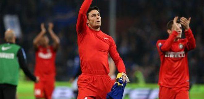 Javier Zanetti Sampdoria-Inter