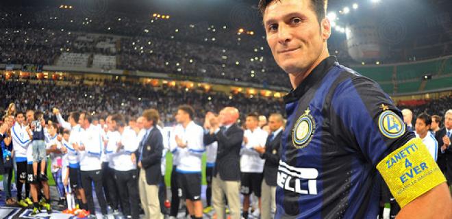 Javier Zanetti addio San Siro