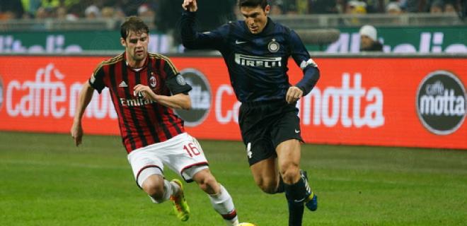 Javier Zanetti derby