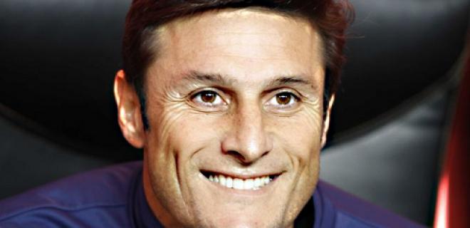 Javier Zanetti primo piano sorriso